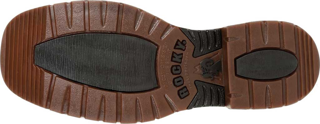 Men's Rocky Original Ride FLX Steel Toe Boot RKW0304, Brown Full Grain Leather, large, image 6