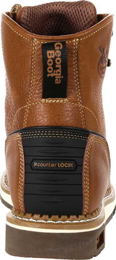 Men's Georgia Boot GB00348 Wedge Steel Toe Work Boot, Brown Full Grain Leather, large, image 4