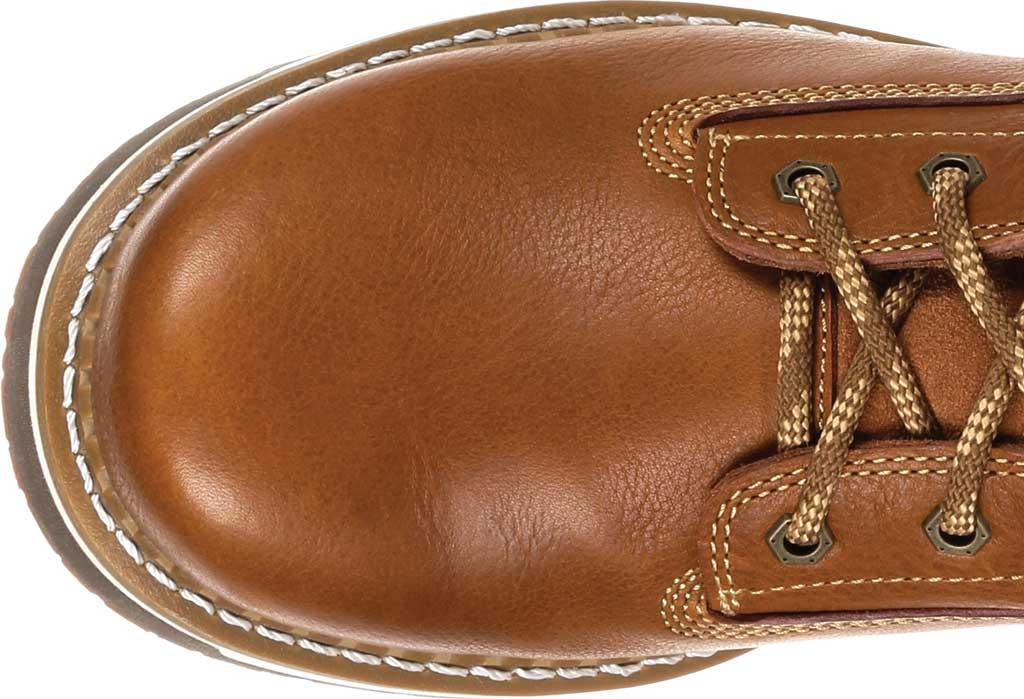 Men's Georgia Boot GB00348 Wedge Steel Toe Work Boot, Brown Full Grain Leather, large, image 5