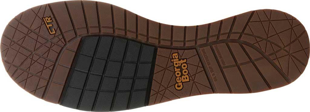 Men's Georgia Boot GB00353 Wedge Steel Toe Waterproof Chelsea Boot, Brown Full Grain Leather, large, image 6