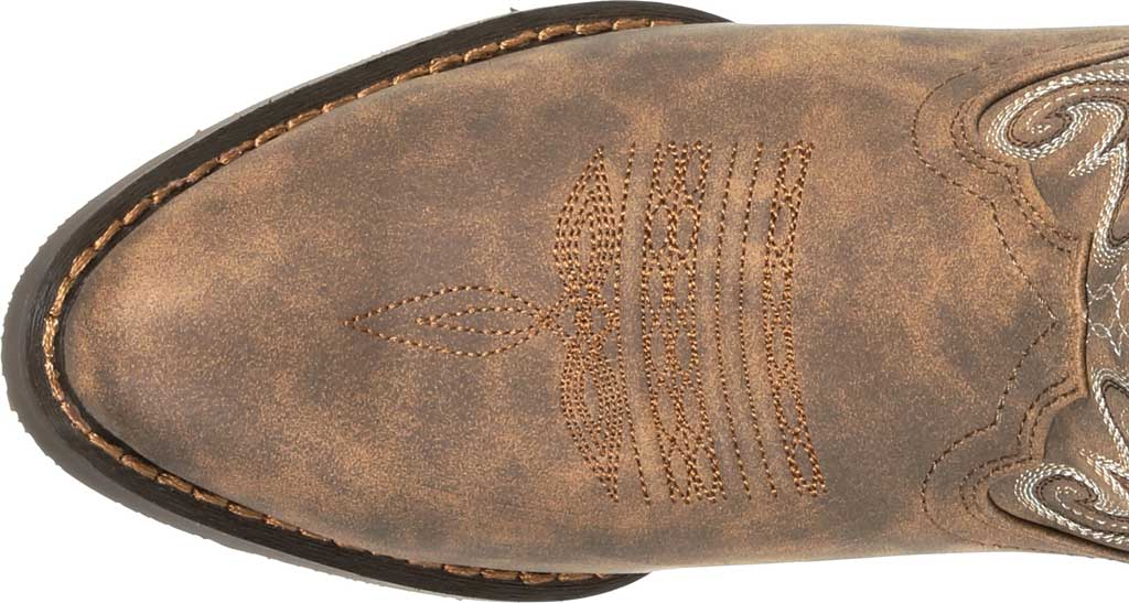 Women's Durango Boot DRD0372 Crush Distressed Shortie Western Boot, Driftwood Faux Leather, large, image 5