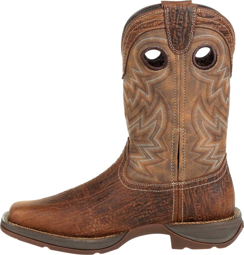 Men's Durango Boot DDB0271 Rebel Western Boot, Trail Brown Full Grain Leather/Faux, large, image 3