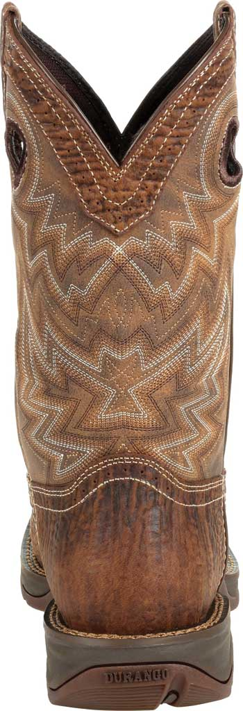 Men's Durango Boot DDB0271 Rebel Western Boot, Trail Brown Full Grain Leather/Faux, large, image 4