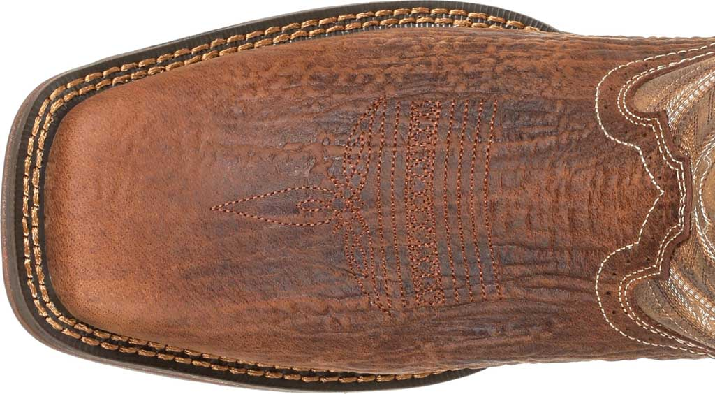 Men's Durango Boot DDB0271 Rebel Western Boot, Trail Brown Full Grain Leather/Faux, large, image 5