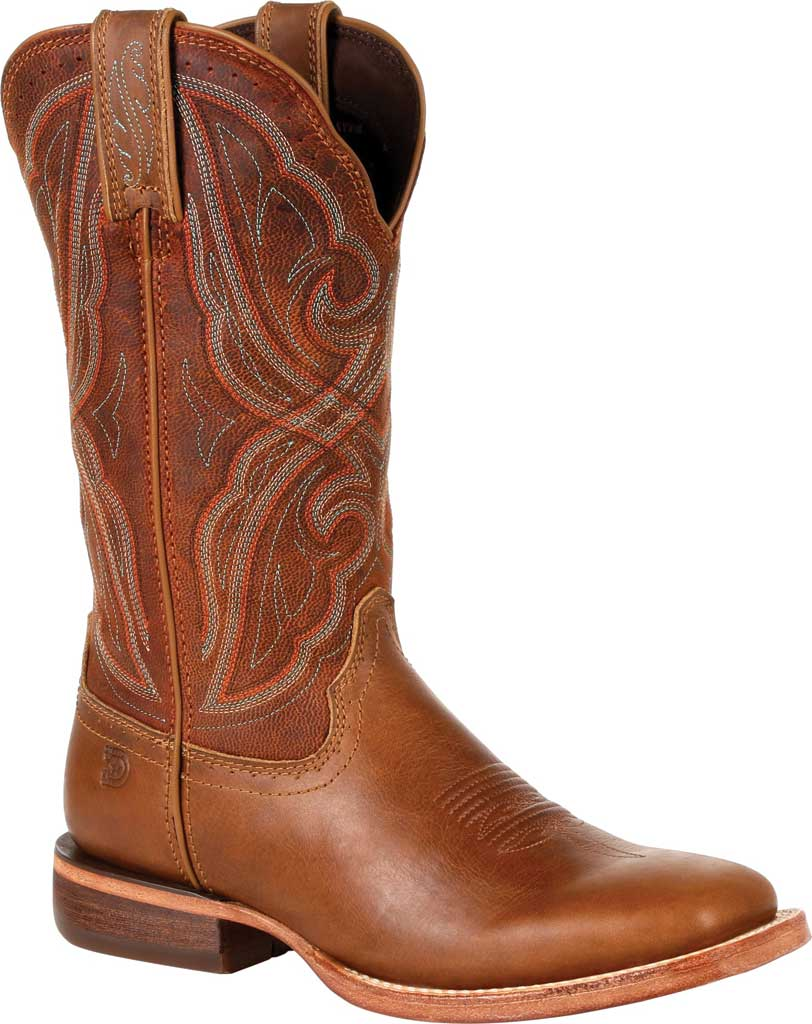 Women's Durango Boot DRD0380 Arena Pro Western Boot, Chestnut Full Grain Leather, large, image 1