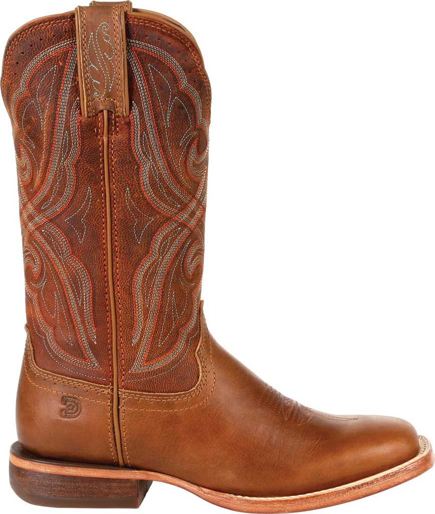 Women's Durango Boot DRD0380 Arena Pro Western Boot, Chestnut Full Grain Leather, large, image 2