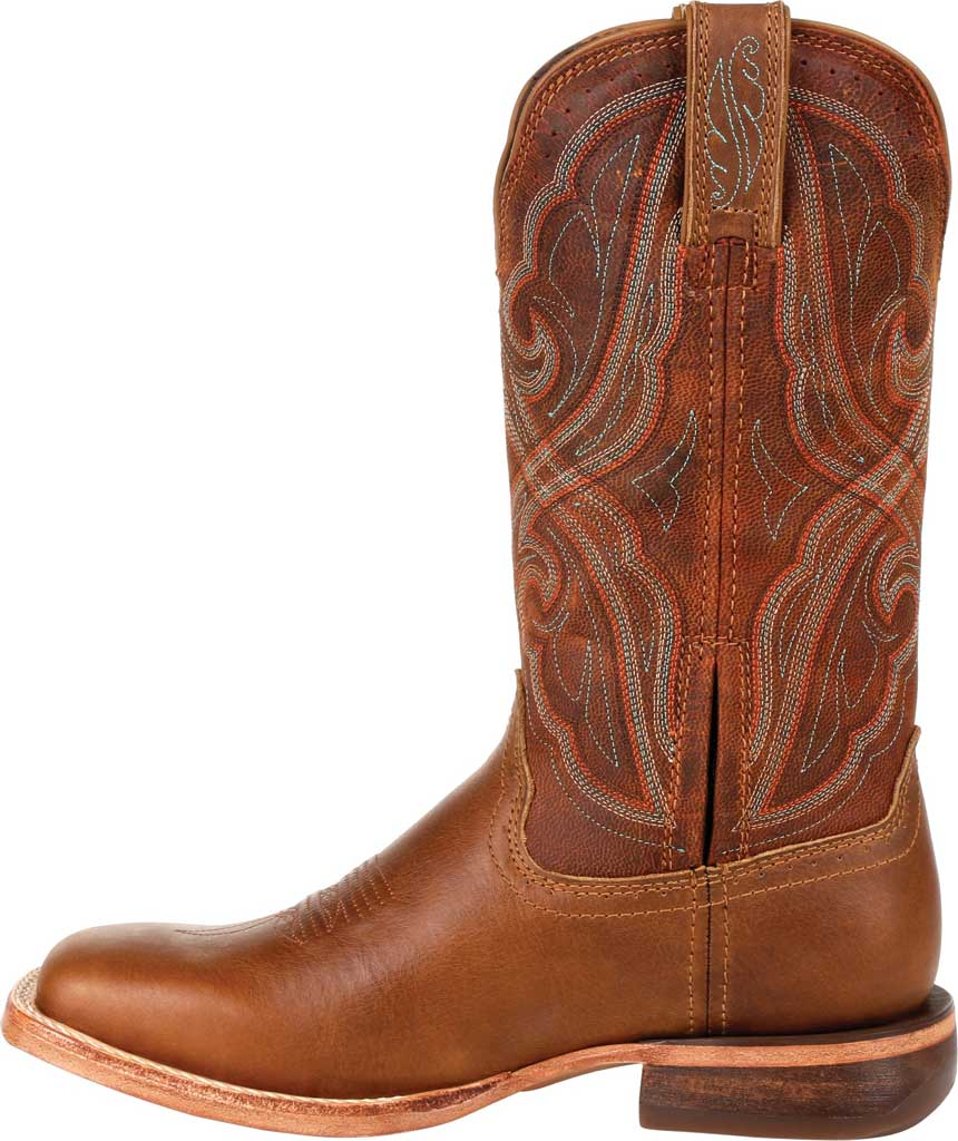 Women's Durango Boot DRD0380 Arena Pro Western Boot, Chestnut Full Grain Leather, large, image 3