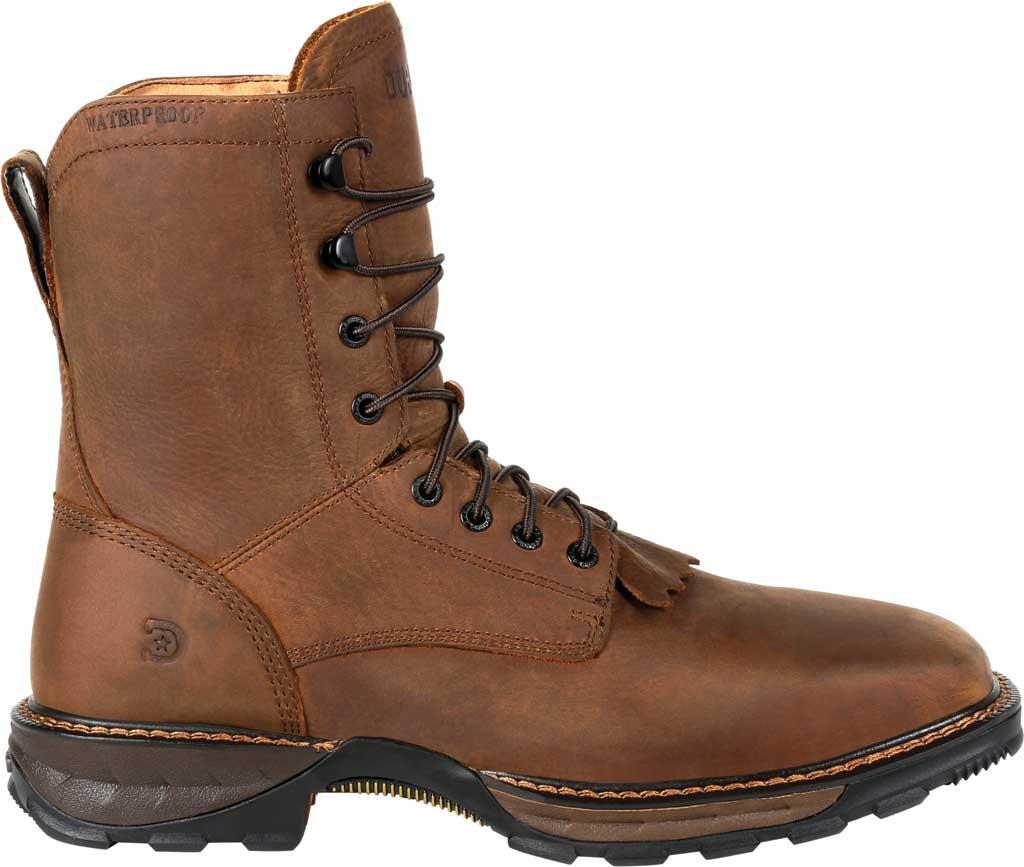Men's Durango Boot DDB0267 Maverick XP Steel Toe WP Lacer Work Boot, Russet Full Grain Leather, large, image 2