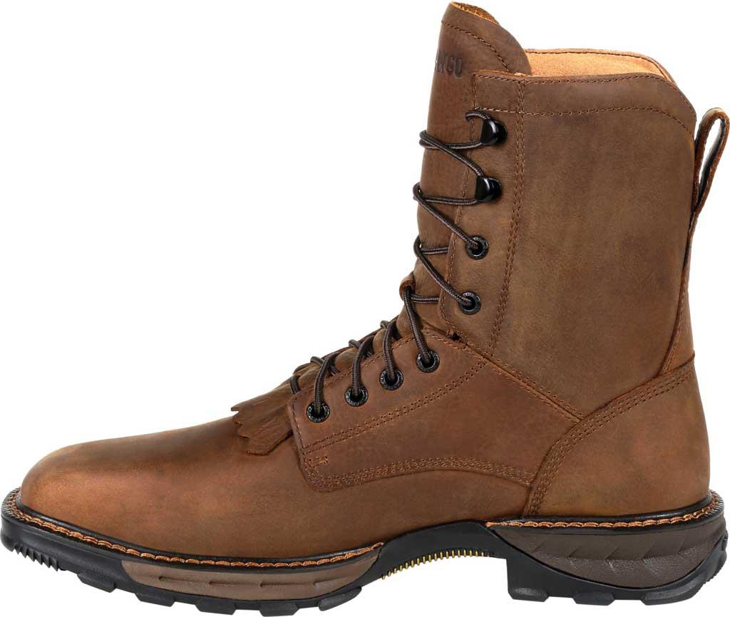 Men's Durango Boot DDB0267 Maverick XP Steel Toe WP Lacer Work Boot, Russet Full Grain Leather, large, image 3