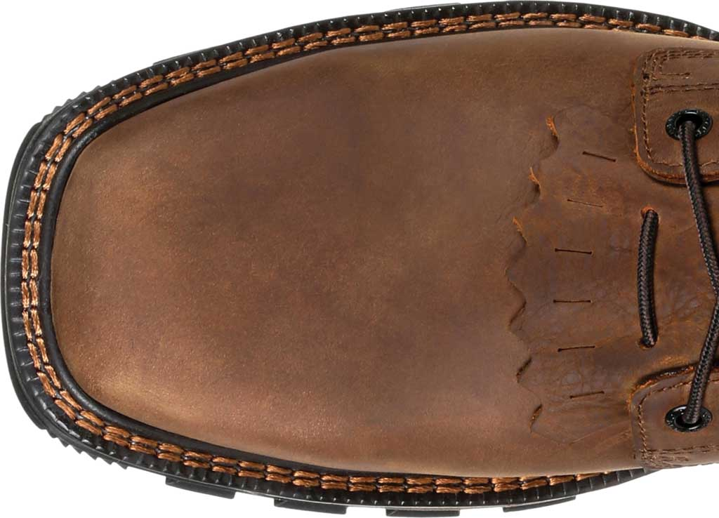 Men's Durango Boot DDB0267 Maverick XP Steel Toe WP Lacer Work Boot, Russet Full Grain Leather, large, image 5