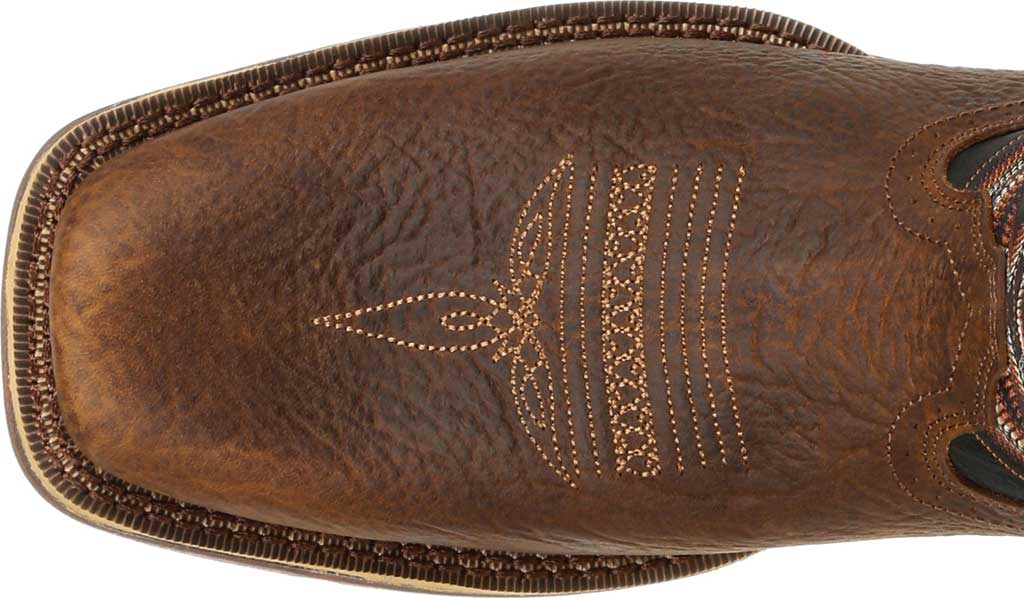 Men's Durango Boot DDB0270 Rebel Western Boot, Chocolate/Black Eclipse Full Grain Leather/Faux, large, image 5