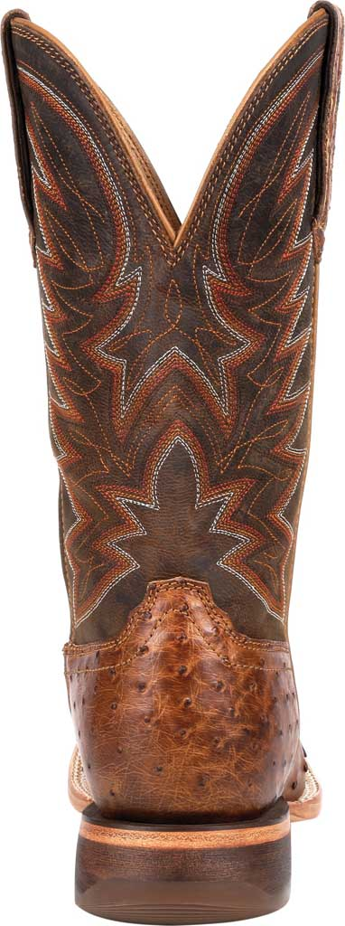 Men's Durango Boot DDB0272 Exotic Full-Quill Ostrich Western Boot, Sunset Wheat Ostrich/Full Grain Leather, large, image 4