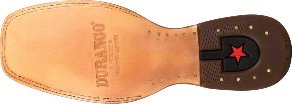 Men's Durango Boot DDB0272 Exotic Full-Quill Ostrich Western Boot, Sunset Wheat Ostrich/Full Grain Leather, large, image 6