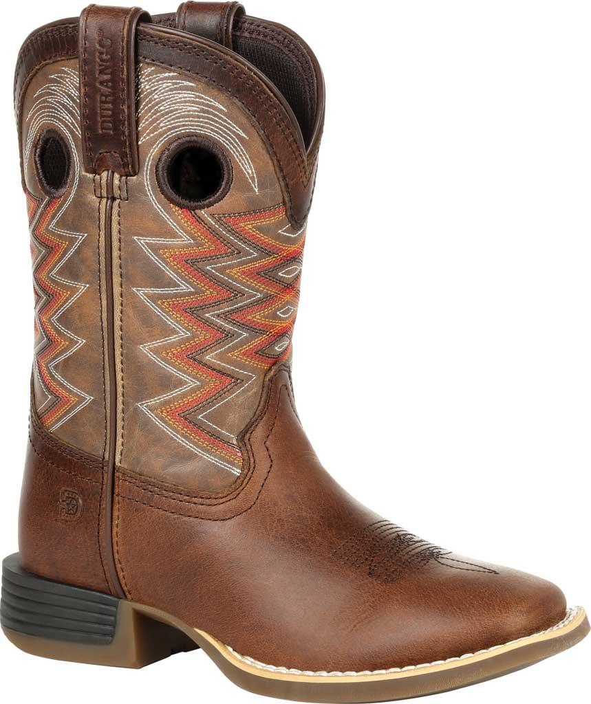 Children's Durango Boot DBT0226Y Lil' Rebel Pro Big Kid Western Boot, Tiger Eye Full Grain Leather/Faux, large, image 1