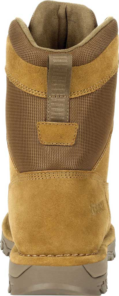 """Men's Rocky Portland 8"""" Coyote Public Service Boot RKD0069, Coyote Brown Full Grain Leather, large, image 4"""