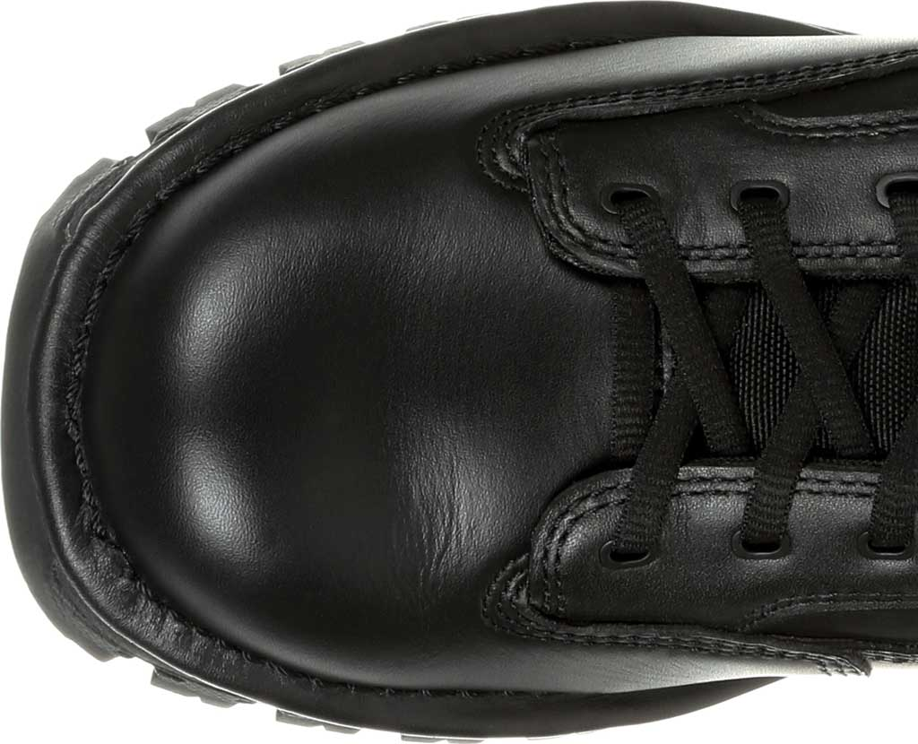 "Men's Rocky Portland 6"" Side Zip WP Service Boot RKD0071, Black Full Grain Leather, large, image 5"
