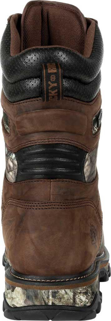 Men's Rocky MTN Stalker WP Insulated Outdoor Boot RKS0475, Brown/Mossy Oak Country Nylon/Full Grain Leather, large, image 4