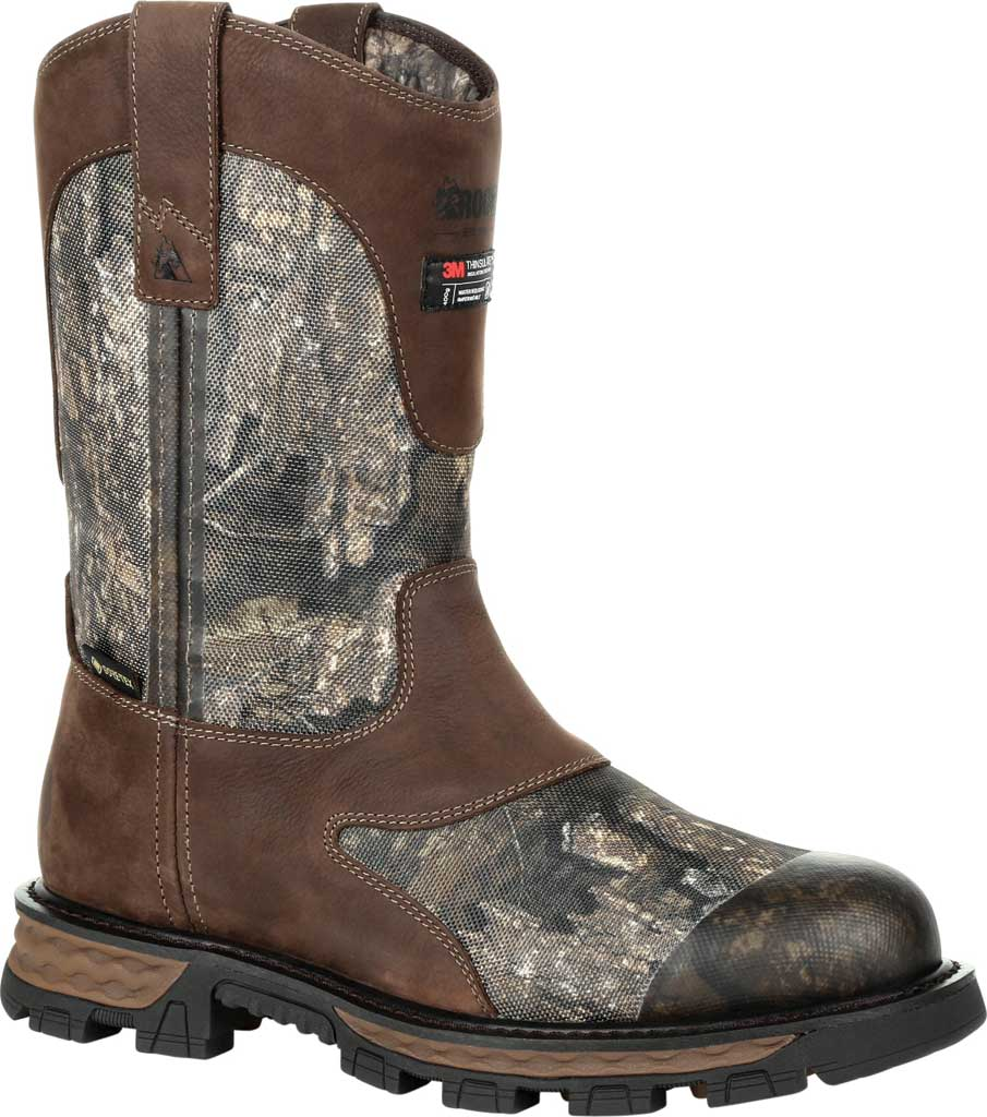 Men's Rocky Cornstalker NXT GTX WP Insulated Boot RKS0466, Realtree Timber Cordura/Full Grain Leather, large, image 1