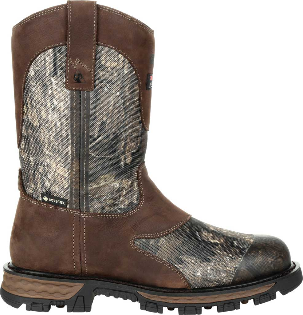 Men's Rocky Cornstalker NXT GTX WP Insulated Boot RKS0466, Realtree Timber Cordura/Full Grain Leather, large, image 2