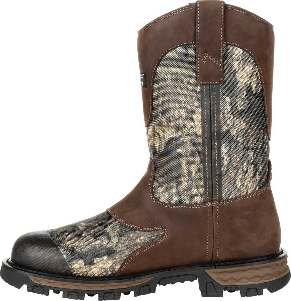 Men's Rocky Cornstalker NXT GTX WP Insulated Boot RKS0466, Realtree Timber Cordura/Full Grain Leather, large, image 3