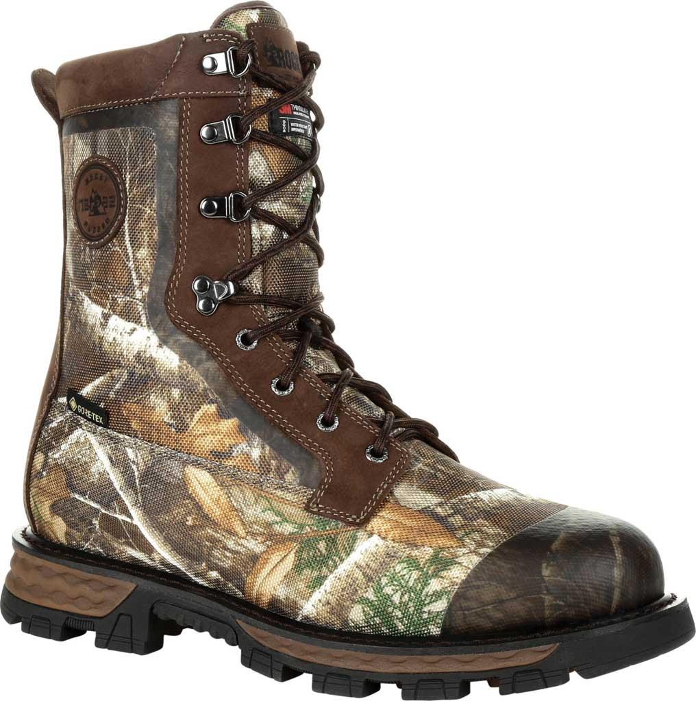 Men's Rocky Cornstalker NXT GTX WP Insulated Boot RKS0464, Realtree Edge Cordura/Full Grain Leather, large, image 1