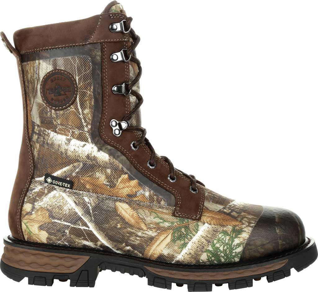 Men's Rocky Cornstalker NXT GTX WP Insulated Boot RKS0464, Realtree Edge Cordura/Full Grain Leather, large, image 2