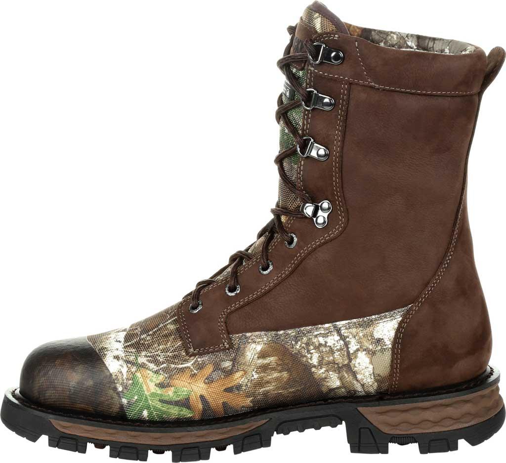 Men's Rocky Cornstalker NXT GTX WP Insulated Boot RKS0464, Realtree Edge Cordura/Full Grain Leather, large, image 3