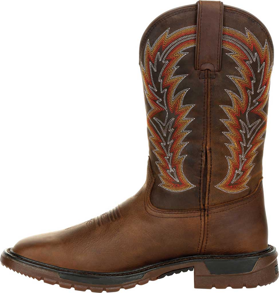 Men's Rocky Original Ride FLX Western Boot RKW0322, Brown/Sunset Wheat Full Grain Leather, large, image 3