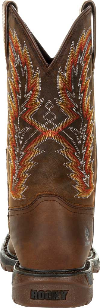Men's Rocky Original Ride FLX Western Boot RKW0322, Brown/Sunset Wheat Full Grain Leather, large, image 4