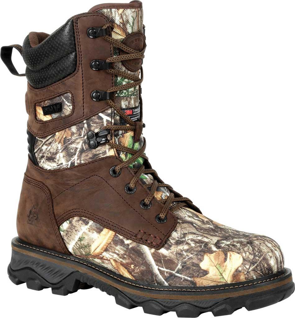 Men's Rocky MTN Stalker WP Insulated Outdoor Boot RKS0474, Realtree Edge Full Grain Leather/Nylon, large, image 1