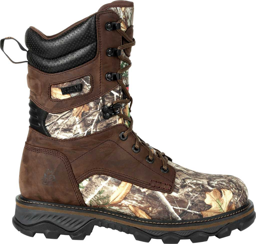 Men's Rocky MTN Stalker WP Insulated Outdoor Boot RKS0474, Realtree Edge Full Grain Leather/Nylon, large, image 2