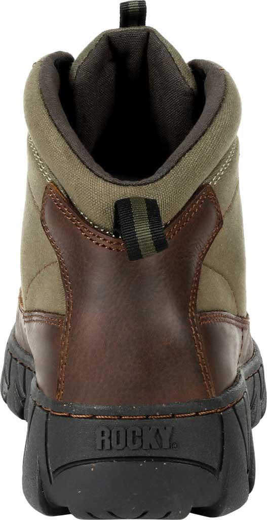 Men's Rocky Oak Creek Chukka Boot RKS0481, Brown Waxhide Canvas/Full Grain Leather, large, image 4