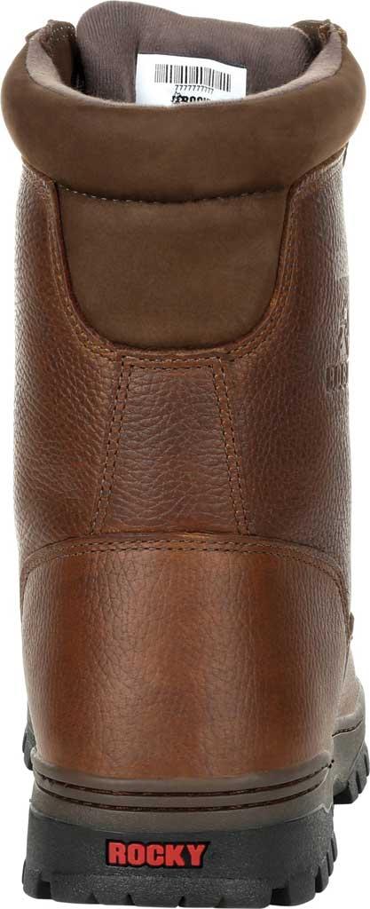 Men's Rocky Outback Plain Toe GTX WP Outdoor Boot RKS0476, Brown Full Grain Leather, large, image 4