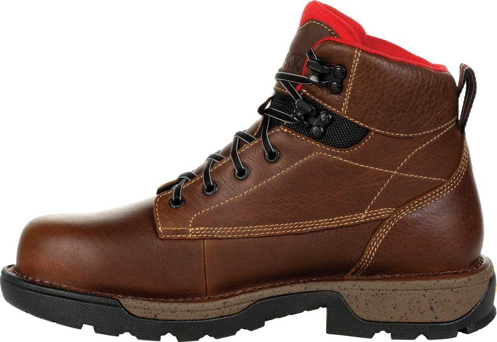 "Men's Rocky Legacy 32 6"" CT Waterproof Work Boot RKK0301, Brown Full Grain Leather, large, image 3"