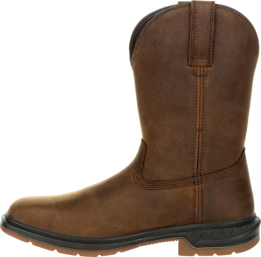 Men's Rocky Worksmart PR Composite Toe Waterproof Boot RKW0325, Brown Full Grain Leather, large, image 3