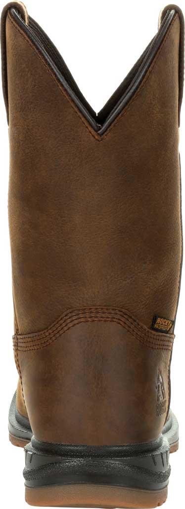 Men's Rocky Worksmart PR Composite Toe Waterproof Boot RKW0325, Brown Full Grain Leather, large, image 4