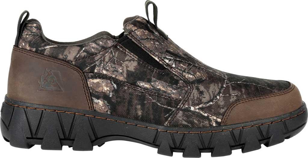 Men's Rocky Oak Creek Camo Slip On Shoe RKS0484, Realtree Timber Nylon/Full Grain Leather, large, image 2