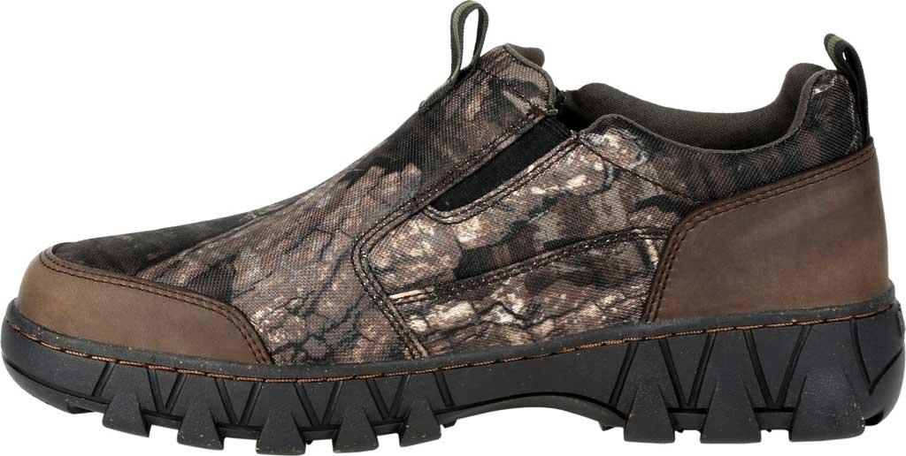 Men's Rocky Oak Creek Camo Slip On Shoe RKS0484, Realtree Timber Nylon/Full Grain Leather, large, image 3