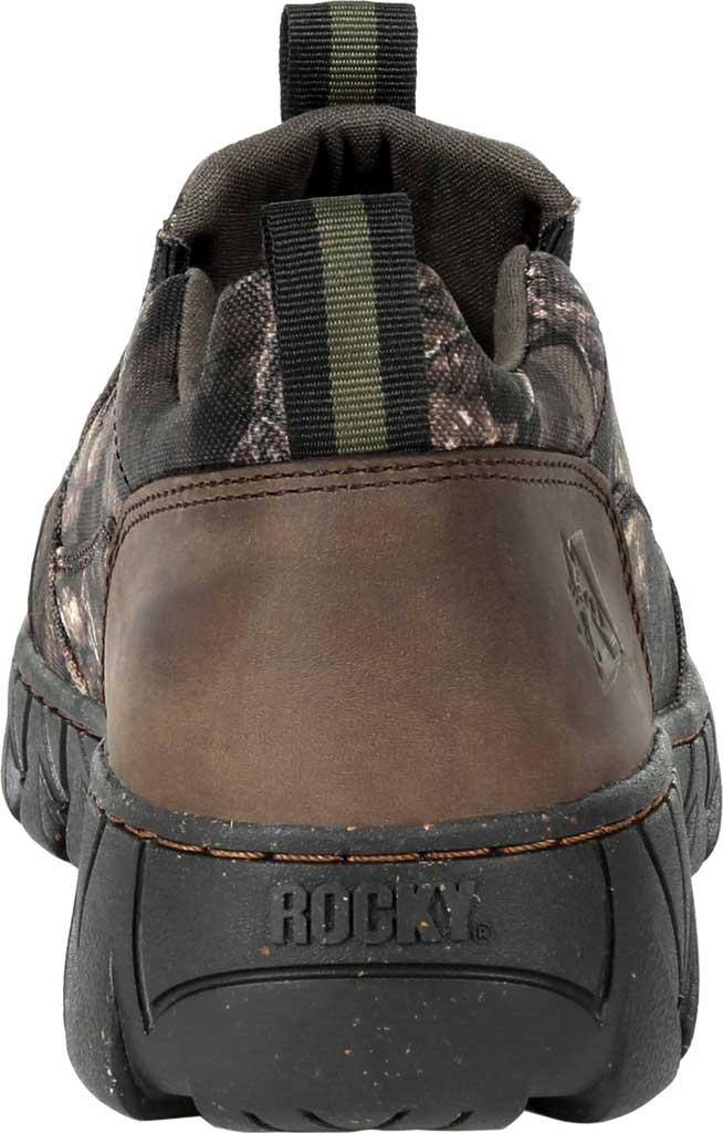 Men's Rocky Oak Creek Camo Slip On Shoe RKS0484, Realtree Timber Nylon/Full Grain Leather, large, image 4