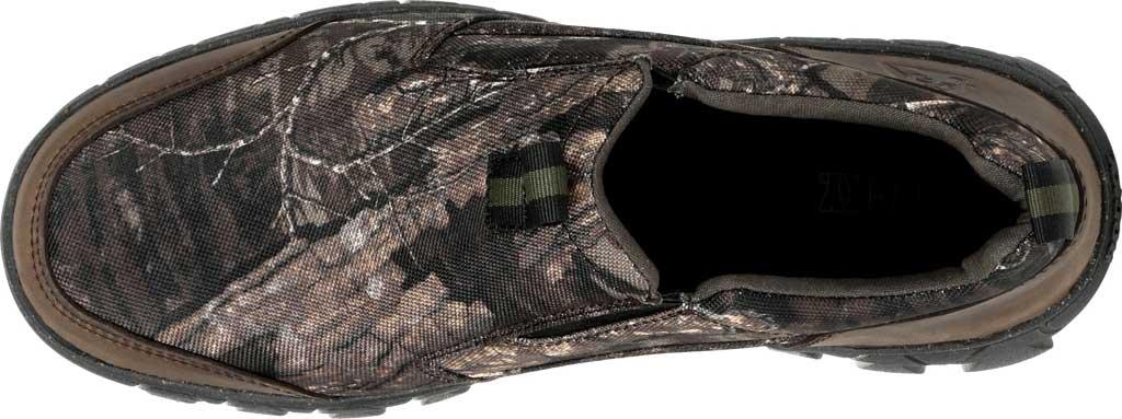 Men's Rocky Oak Creek Camo Slip On Shoe RKS0484, Realtree Timber Nylon/Full Grain Leather, large, image 5