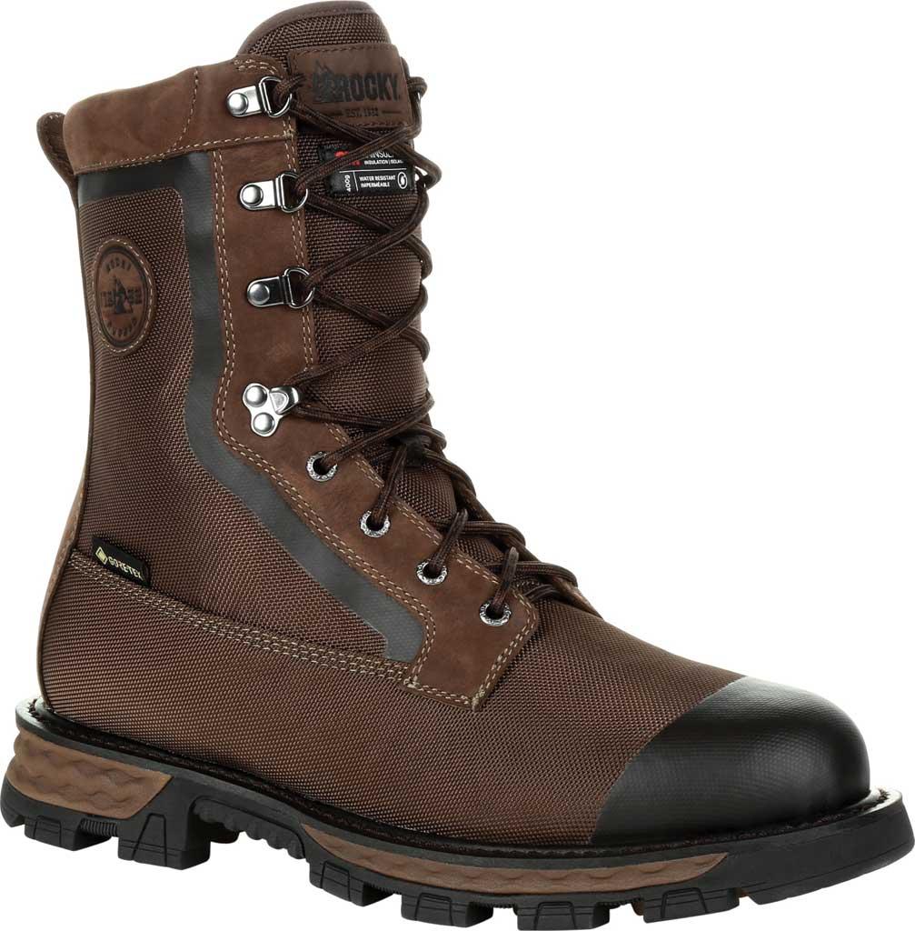 Men's Rocky Cornstalker NXT GTX WP Insulated Boot RKS0463, Bark Brown Cordura/Full Grain Leather, large, image 1
