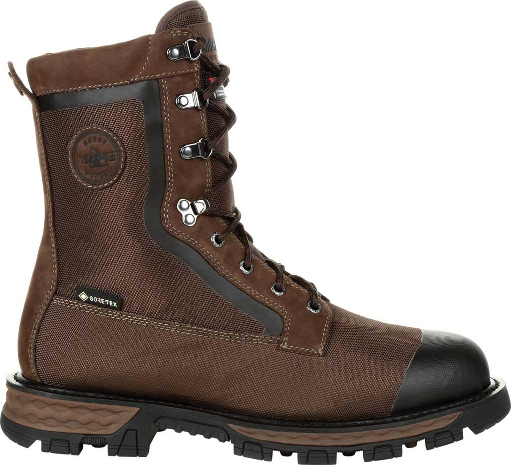 Men's Rocky Cornstalker NXT GTX WP Insulated Boot RKS0463, Bark Brown Cordura/Full Grain Leather, large, image 2