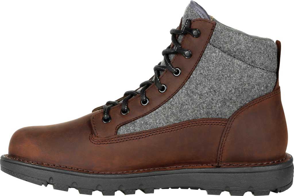 Men's Rocky Legacy 32 Waterproof Outdoor Boot RKS0470, Brown Wool/Full Grain Leather, large, image 3