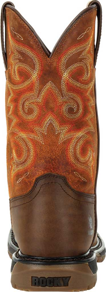 Women's Rocky Original Ride FLX Western Boot RKW0320, Brown/Chestnut Full Grain Leather, large, image 4