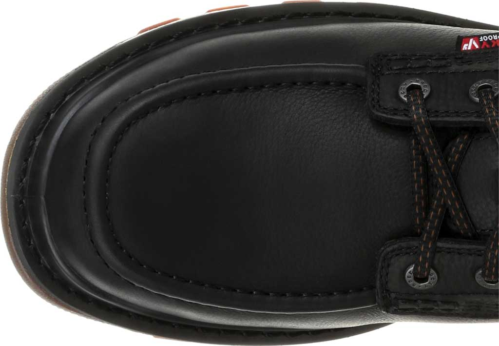 Men's Rocky Rams Horn CT Waterproof Work Boot RKK0304, Black Full Grain Leather, large, image 5