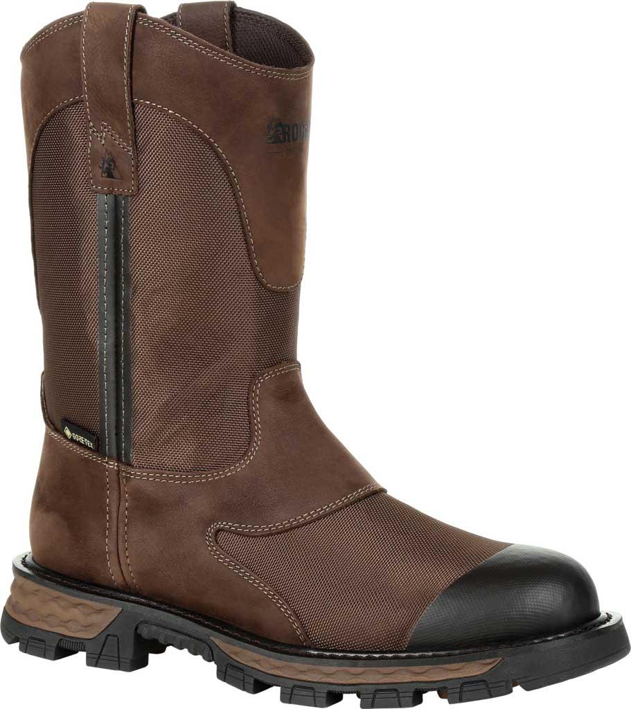 Men's Rocky Cornstalker NXT GTX WP Outdoor Boot RKS0465, Bark Brown Cordura/Full Grain Leather, large, image 1