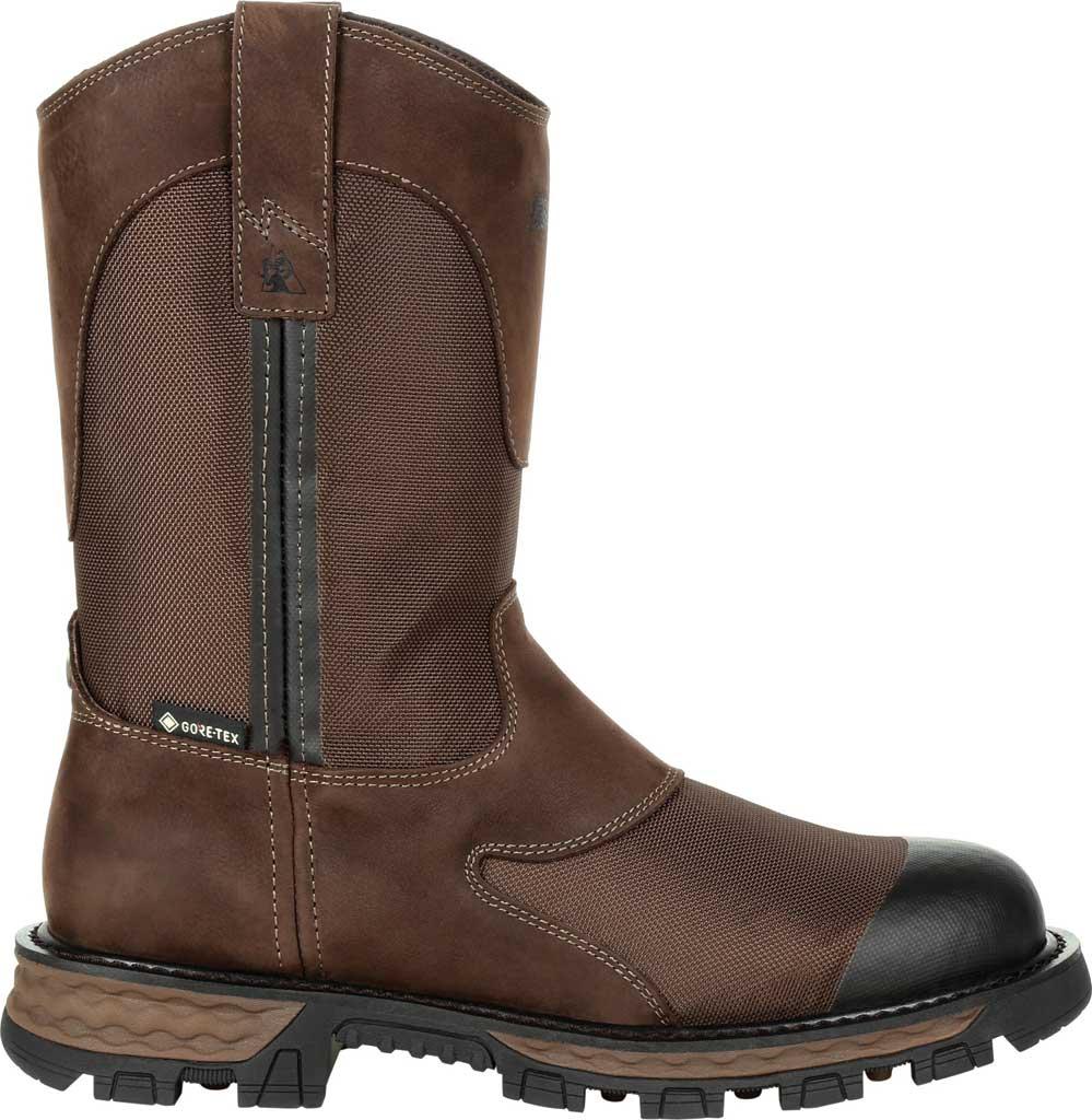 Men's Rocky Cornstalker NXT GTX WP Outdoor Boot RKS0465, Bark Brown Cordura/Full Grain Leather, large, image 2
