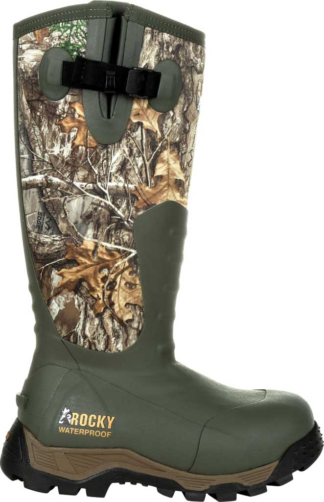 Women's Rocky Sport Pro Insulated Rubber Outdoor Boot RKS0479, Realtree Edge Rubber/Neoprene, large, image 2