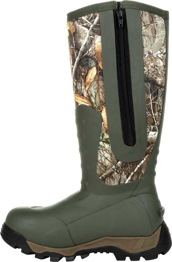 Women's Rocky Sport Pro Insulated Rubber Outdoor Boot RKS0479, Realtree Edge Rubber/Neoprene, large, image 3