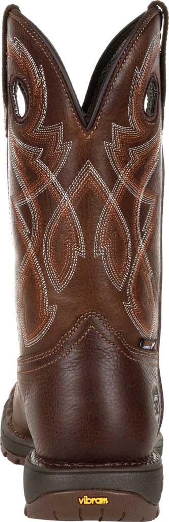 Men's Rocky Legacy 32 Waterproof Western Boot RKW0315, Brown Full Grain Leather, large, image 4